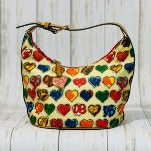 Dooney & Bourke Hearts Bucket Bag